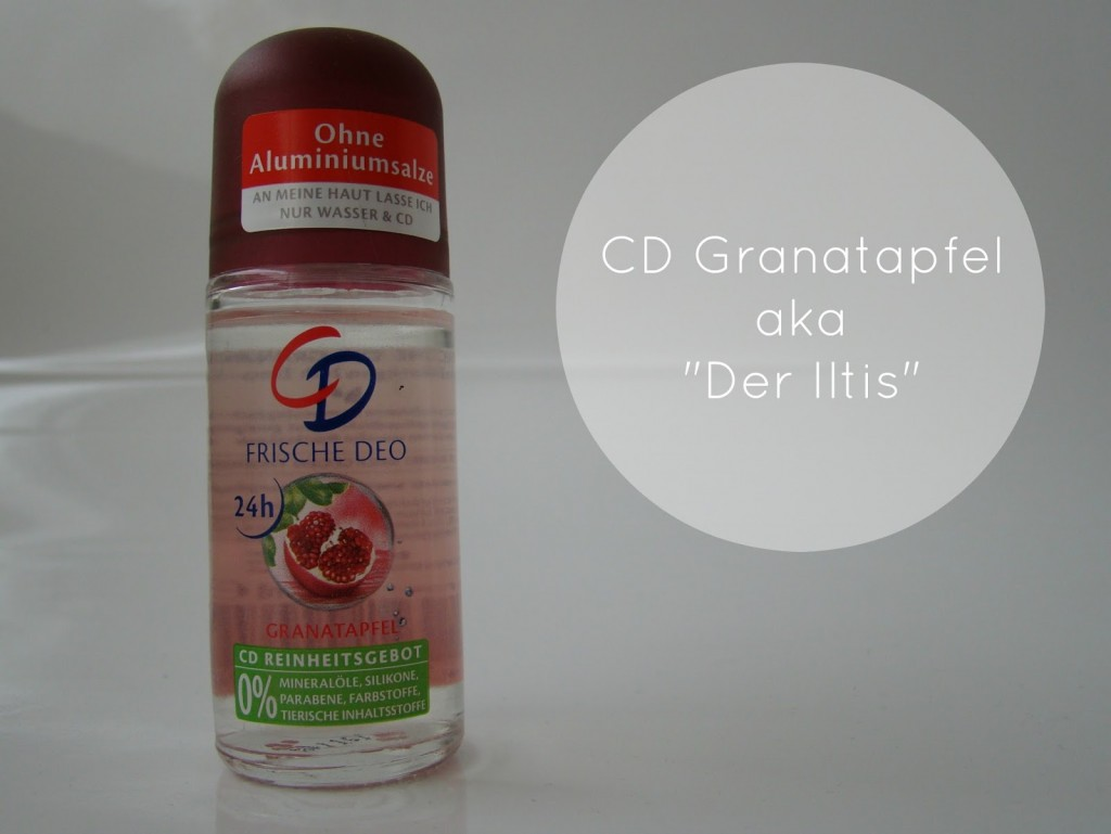 Deo ohne Aluminiumsalze CD Granatapfel