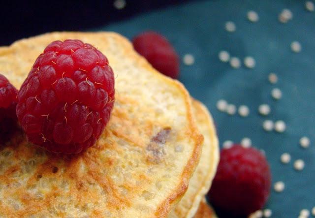 Frühstück Quinoa baby breifrei Pfannkuchen 2